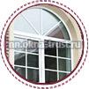 Дизайн шпрос для балконных дверей