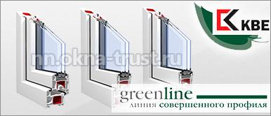 Двери на балкон из профиля KBE