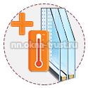 Энергосберегающий стеклопакет для балконной двери