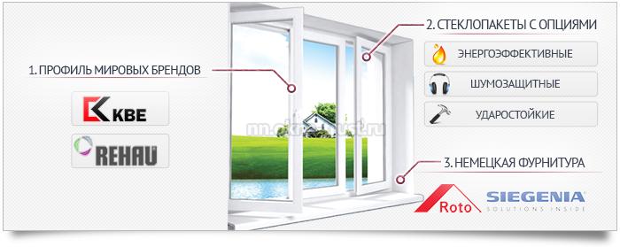 Как выбрать пластиковое окно? Какой профиль выбрать?