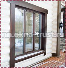Окна в дачном доме