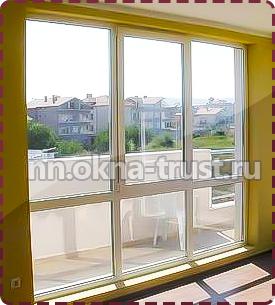 Окна в пол в квартире